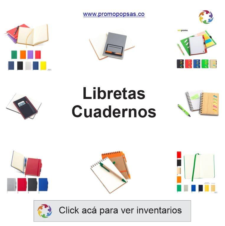 libretas publicitarias - cuadernos promocionales - libretas corporativas