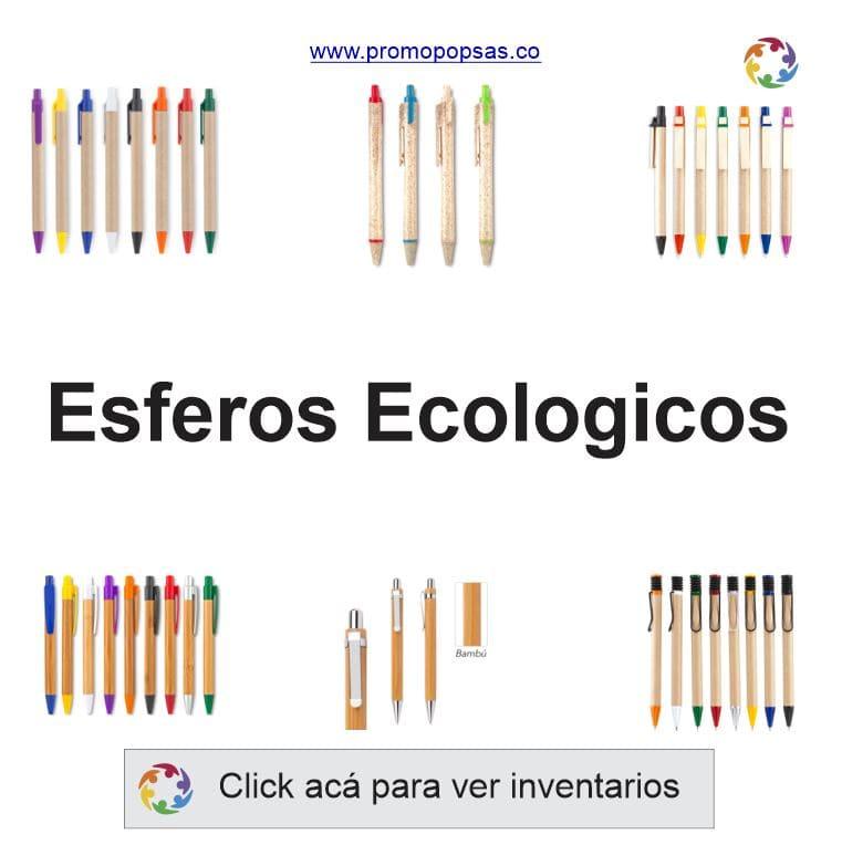 esferos ecologcos publicitarios promopopsas